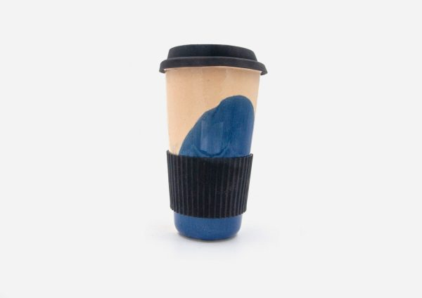 Keep Cup. Mancha Azul Cobalto. (L)