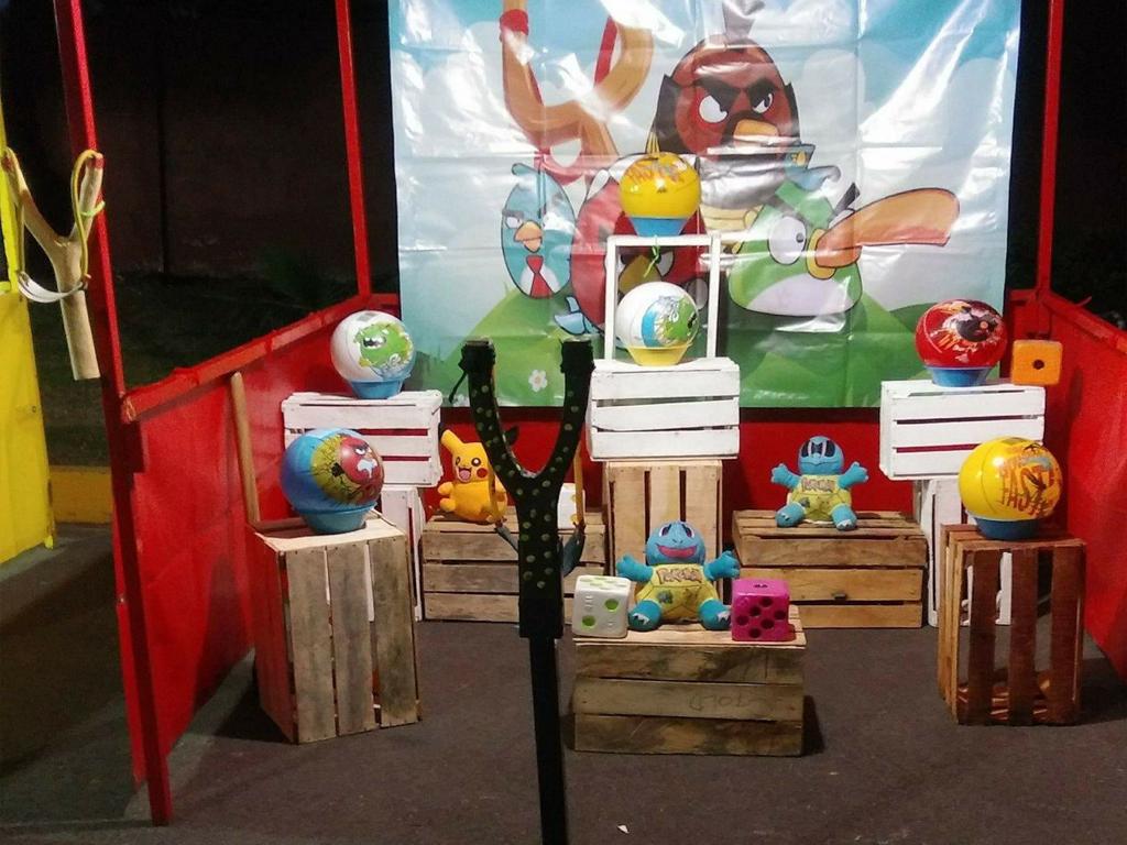 Juegos de feria  Cazafiestas  Luz y sonido en