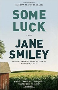 Afternoon Open Book Club ( Some Luck by Jane Smiley)