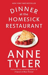Evening Open Book Club (Dinner at the Homesick Restaurant by Anne Tyler)