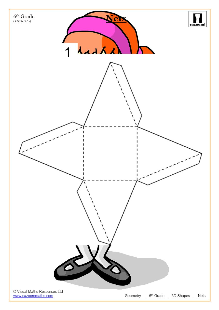 hight resolution of Free 3D Shapes Worksheets   Cazoom Maths