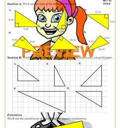 Area And Perimeter (Math Worksheets)   Cazoom Maths [ 1262 x 892 Pixel ]