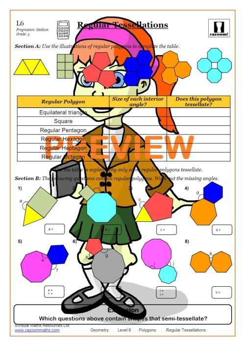 small resolution of Polygons Worksheet PDF   Polygons Angles Worksheet