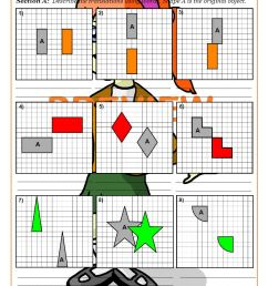 Transformations Worksheets (Geometry)   Cazoom Maths [ 1262 x 892 Pixel ]