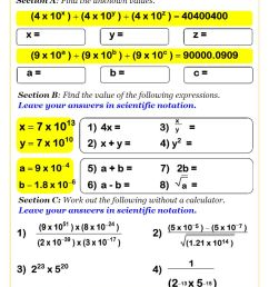 Powers Math Worksheets   Laws of Exponents Worksheets [ 1262 x 892 Pixel ]
