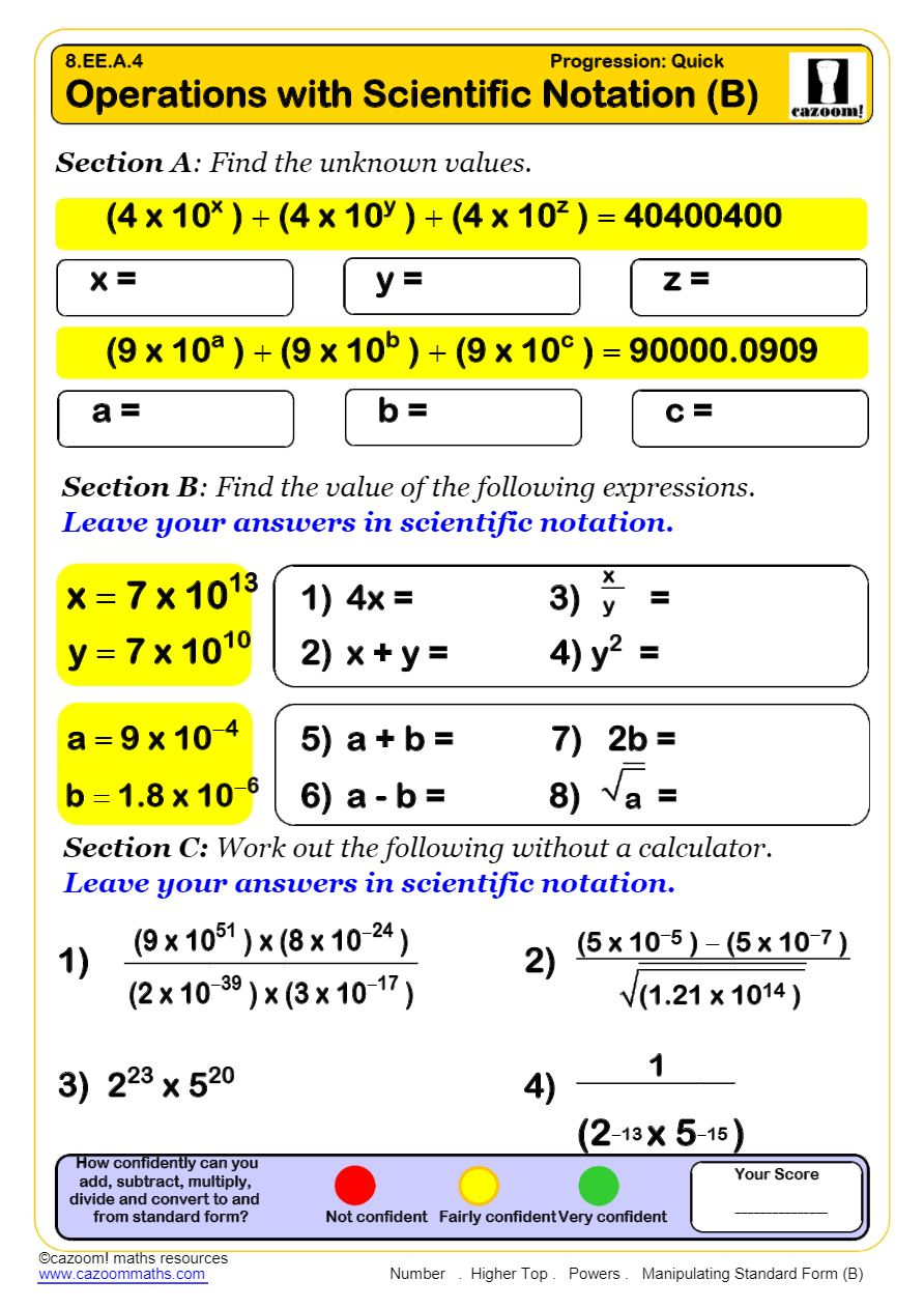 hight resolution of Powers Math Worksheets   Laws of Exponents Worksheets