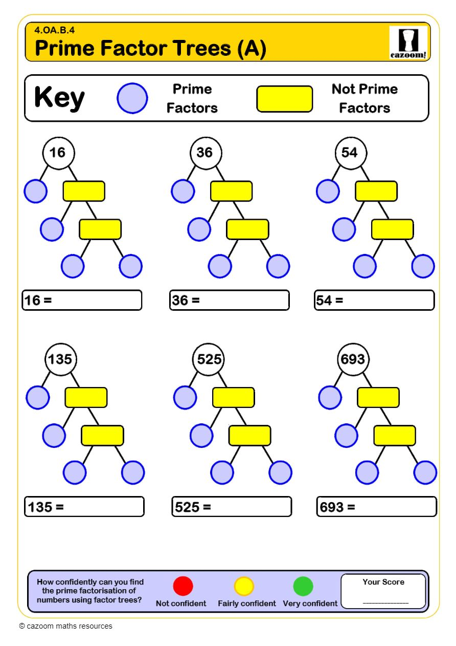 medium resolution of Primes and Composites Worksheets   Printable PDF Worksheets