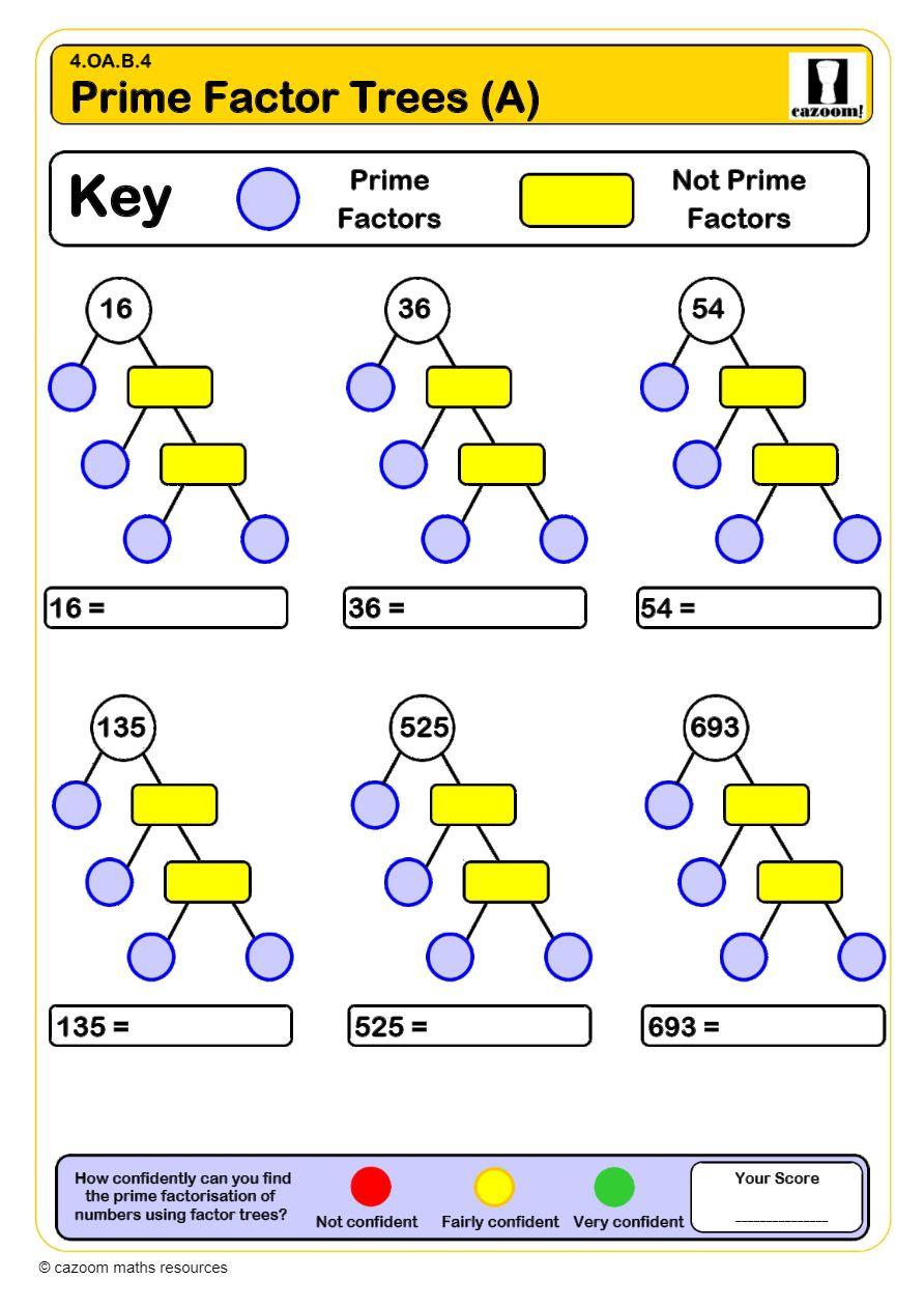 hight resolution of Primes and Composites Worksheets   Printable PDF Worksheets