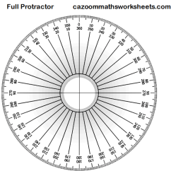 360 Degree Circle Diagram 2005 Nissan Patrol Radio Wiring Free Maths Teaching Resources Ks3 & Ks4 | Fun