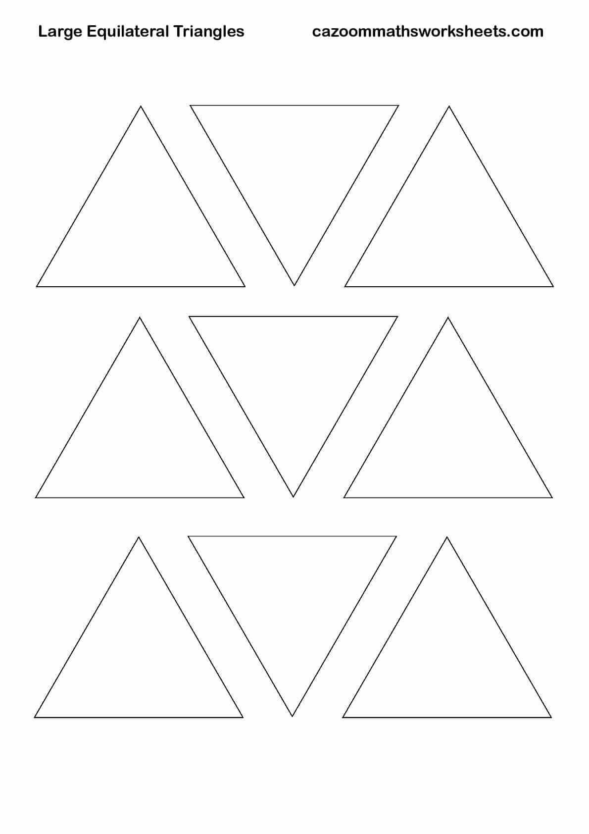 Printable Triangles That Are Witty