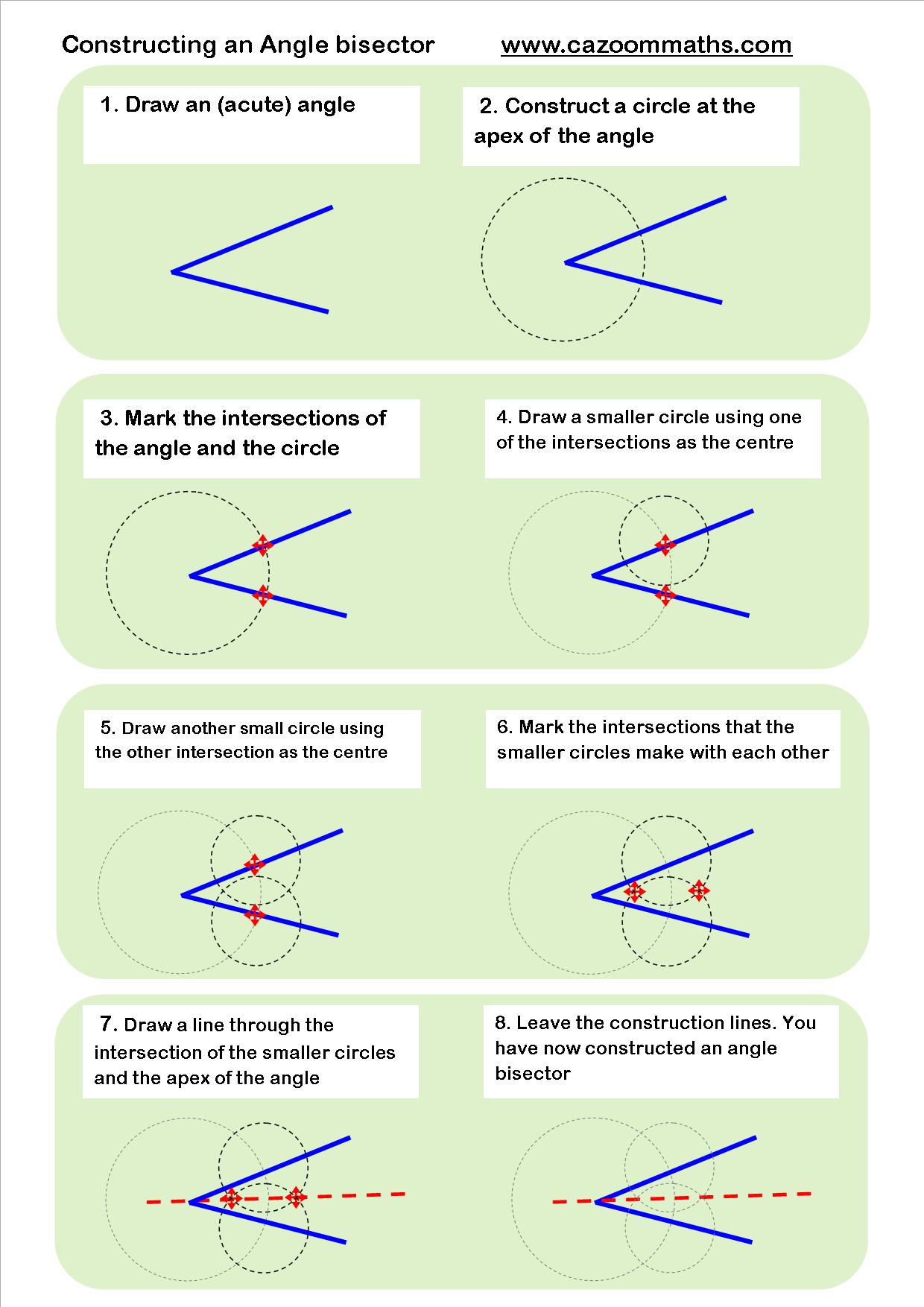 Geometric Construction Worksheet