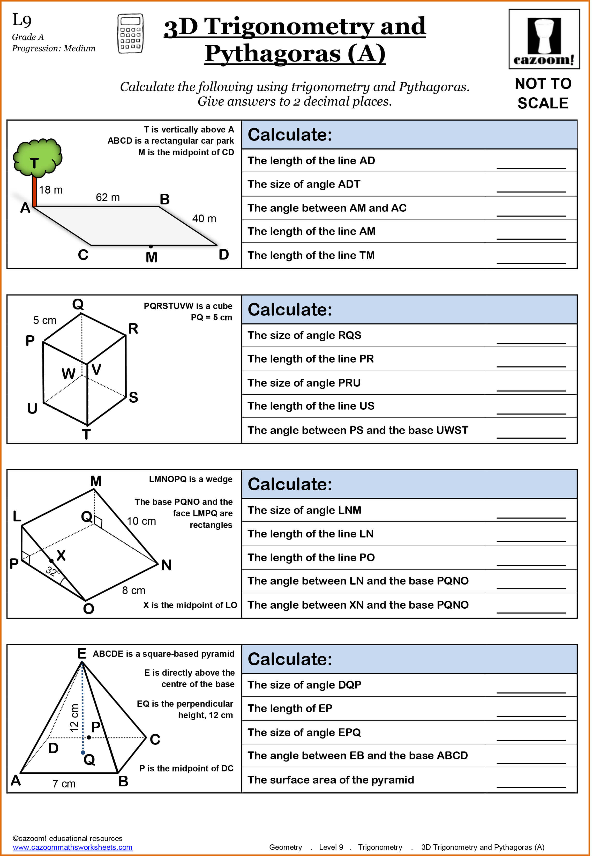 Math Worksheets For 3 Year Olds