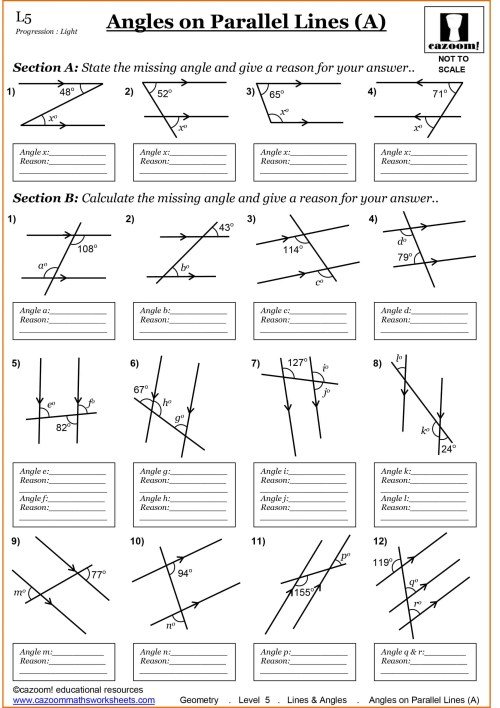 small resolution of Year 7 Maths Worksheets   Cazoom Maths Worksheets