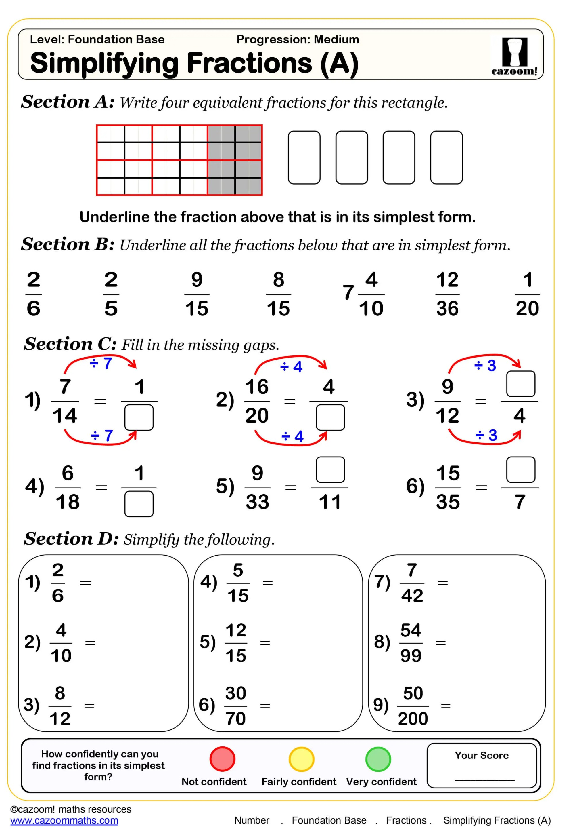 hight resolution of Year 7 Maths Worksheets   Cazoom Maths Worksheets
