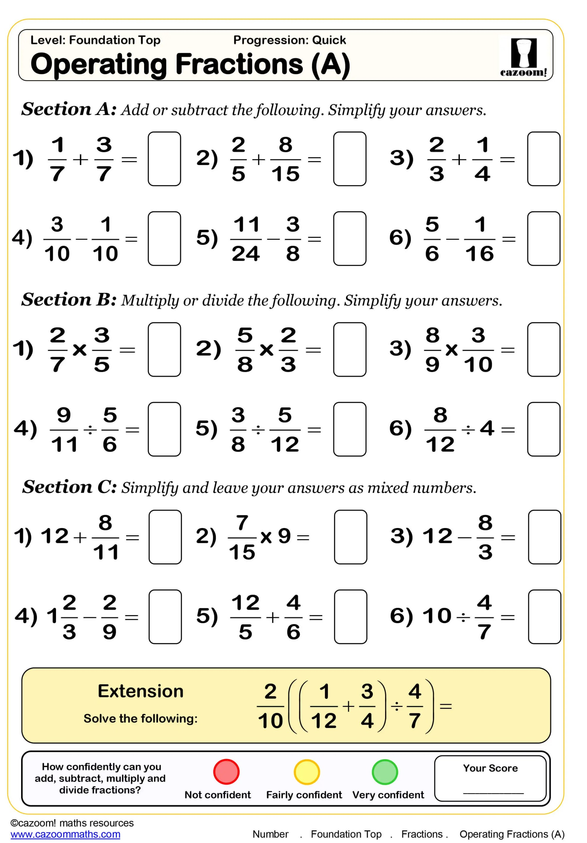 hight resolution of Year 8 Maths Worksheets   Cazoom Maths Worksheets