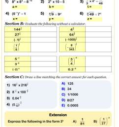 Year 10 Maths Worksheets   Printable PDF Worksheets [ 3489 x 2419 Pixel ]