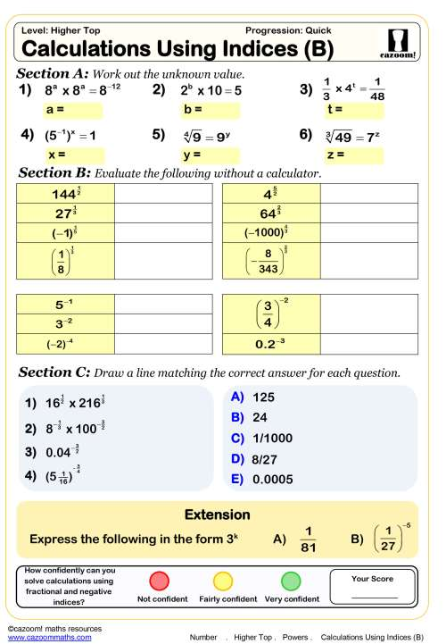 small resolution of Year 10 Maths Worksheets   Printable PDF Worksheets