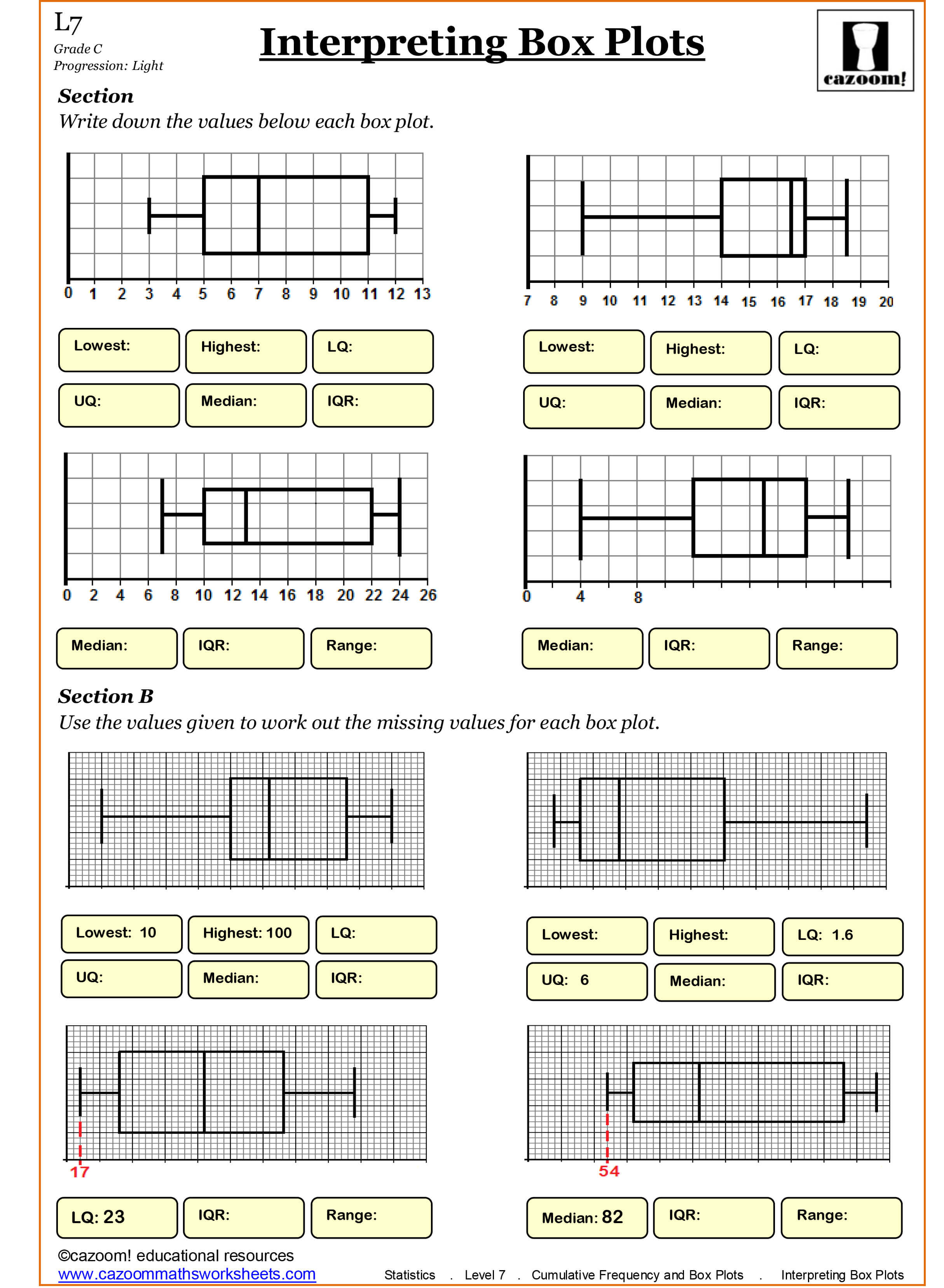 35 Year 4 Free Printable Maths Worksheets