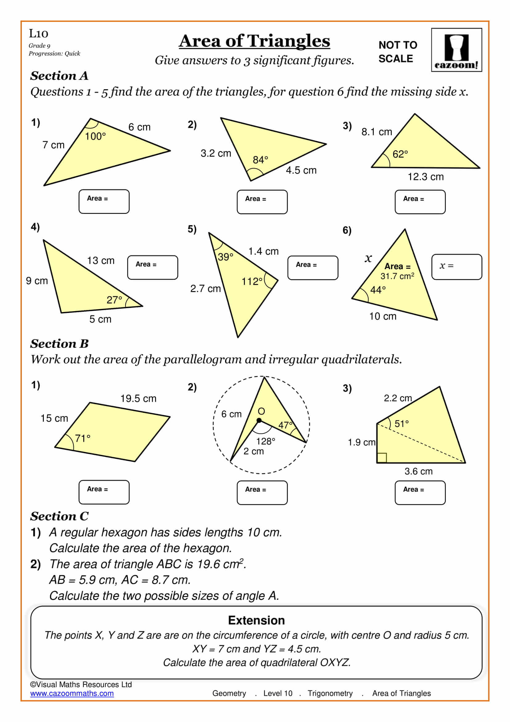 Ks3 Maths Worksheets Free