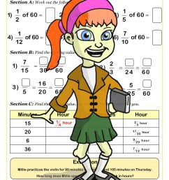 Free Equivalent Fractions Worksheets   Cazoom Maths [ 1754 x 1240 Pixel ]
