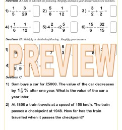 Free Equivalent Fractions Worksheets   Cazoom Maths [ 1123 x 793 Pixel ]