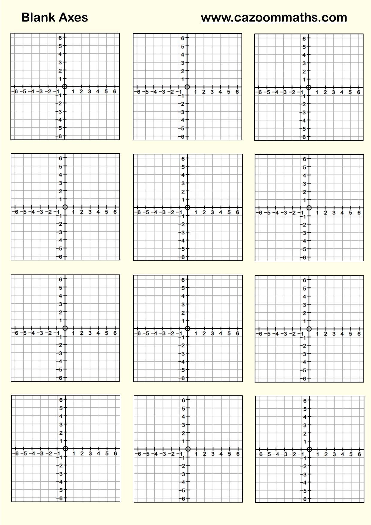 Coordinates 4 Quadrants Worksheet