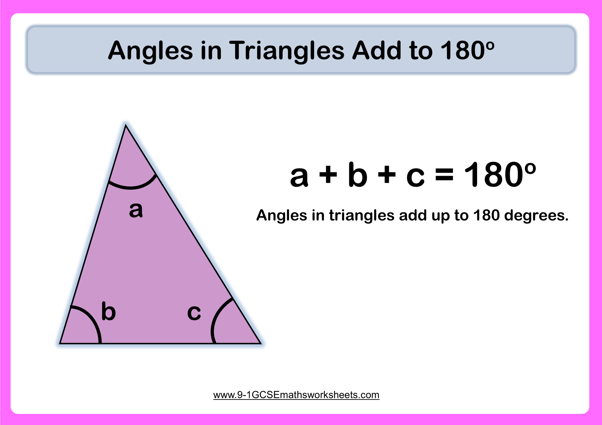 hight resolution of Angles In Triangles Worksheets - New \u0026 Engaging   Cazoomy