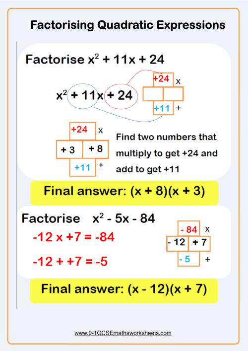 small resolution of Solving Quadratic Equations Worksheets - New \u0026 Engaging   Cazoomy