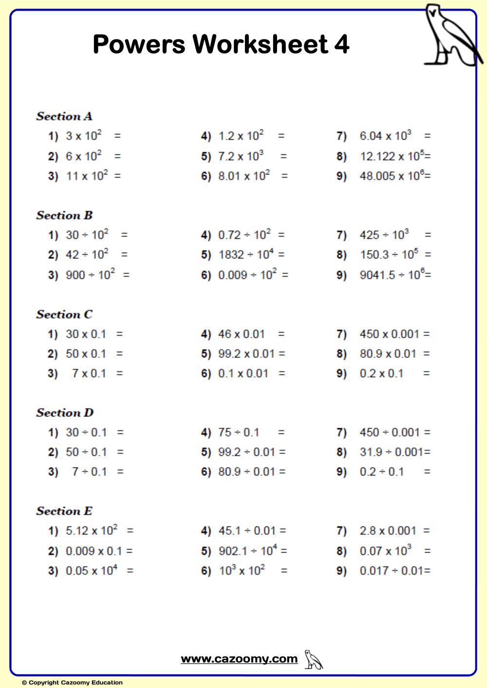 medium resolution of Bodmas Algebra Worksheet   Printable Worksheets and Activities for  Teachers