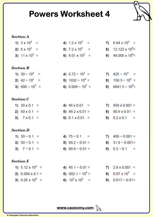 small resolution of Bodmas Algebra Worksheet   Printable Worksheets and Activities for  Teachers