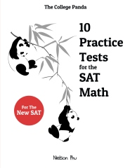 College Panda's 10 Practice Tests for the SAT Math