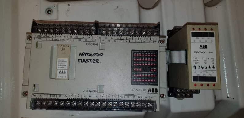 PLC per autolavaggio Ceccato Mod. Master