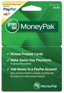 Green Dot Moneypak Reload Card - Year of Clean Water