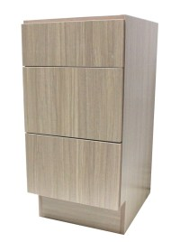 18 Inch European Design Bathroom Vanity 3-Drawer Cabinet ...