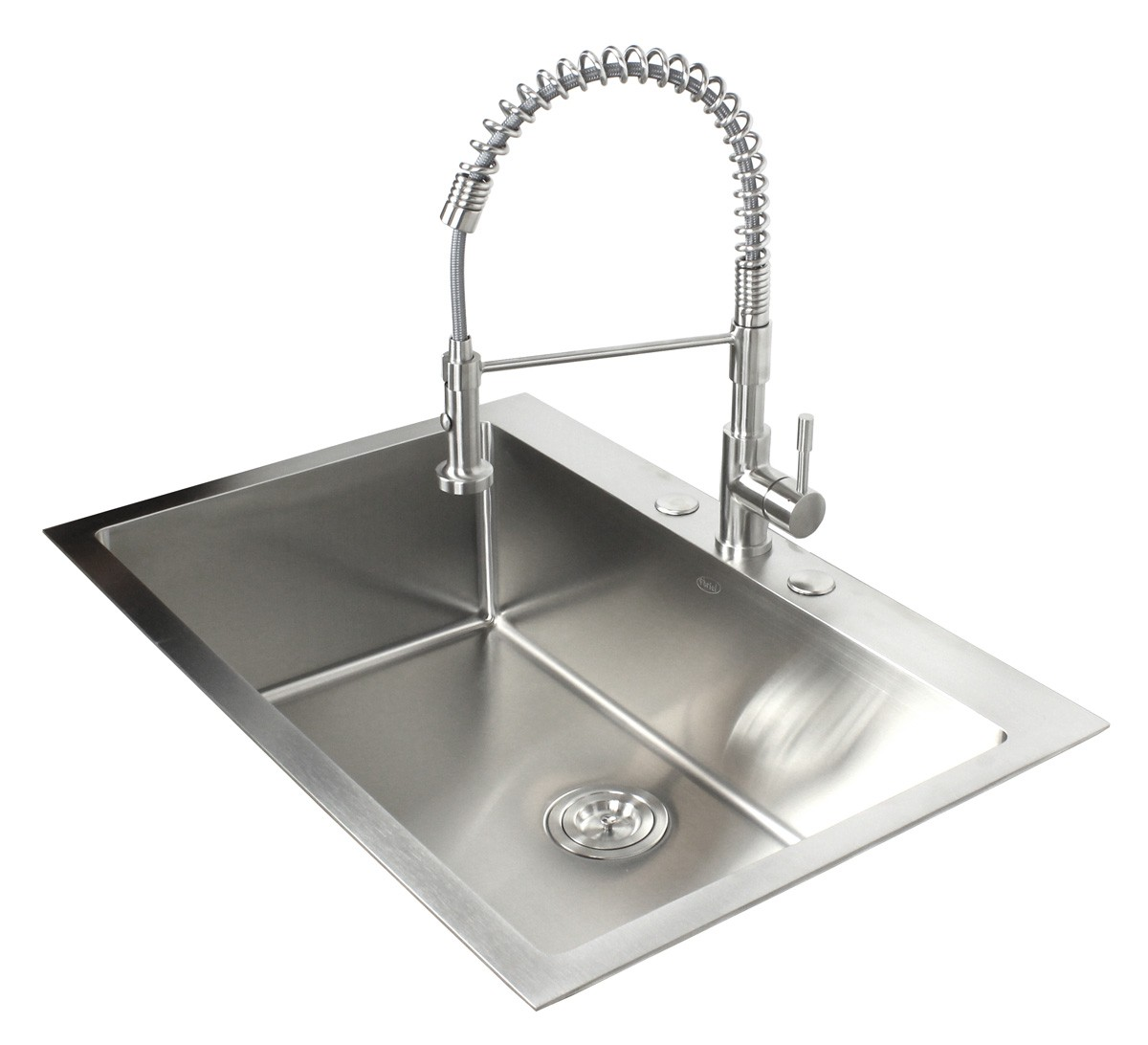 33 Inch Top Mount Drop In Stainless Steel Kitchen Sink