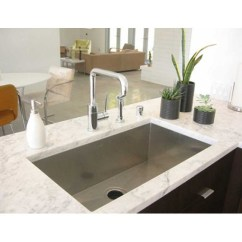 Under Mount Kitchen Sink Swan Sinks 30 Inch Zero Radius Stainless Steel Undermount Single Bowl More Views