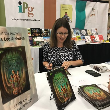 Jessica Lee Anderson Signing