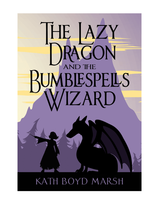 The Lazy Dragon and the Bumblespells Wizard