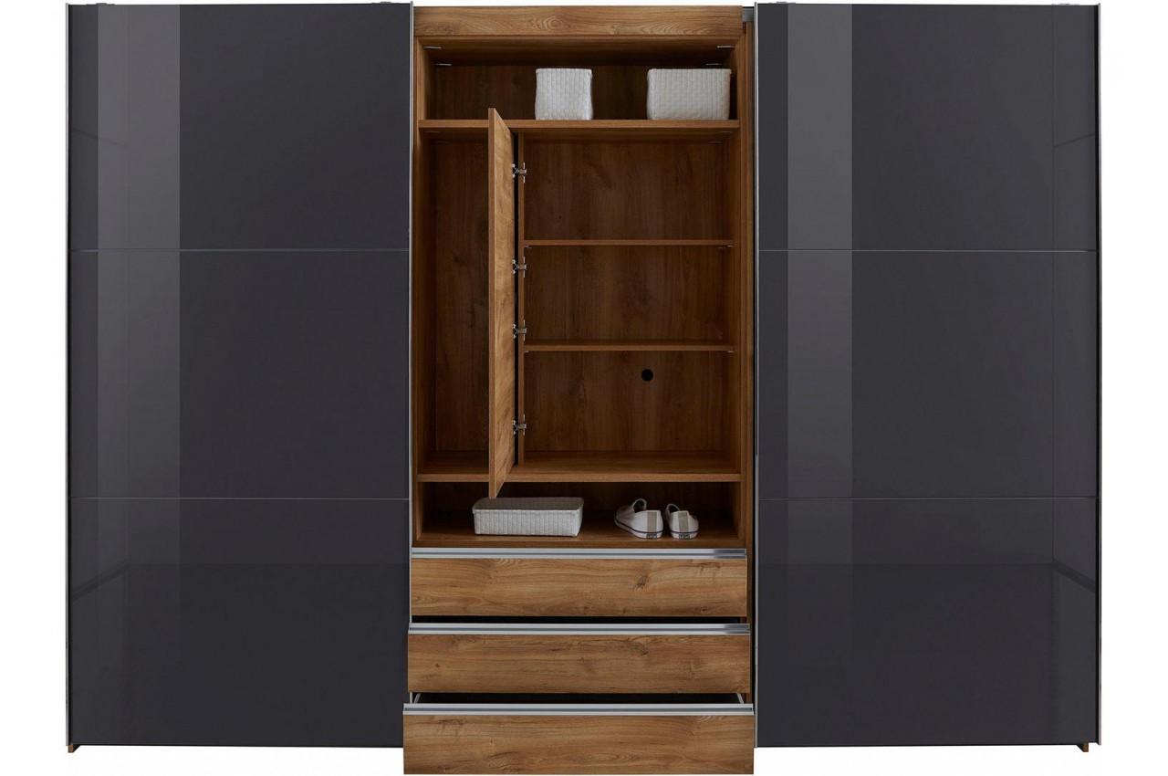 armoire a portes coulissantes avec