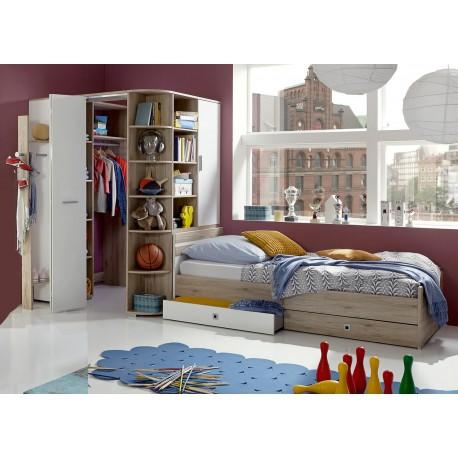 chambre enfant avec armoire d angle cbc meubles