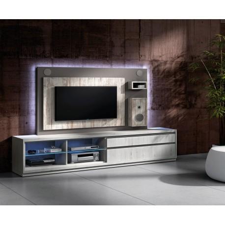 meuble tv design avec enceintes integrees nora k45