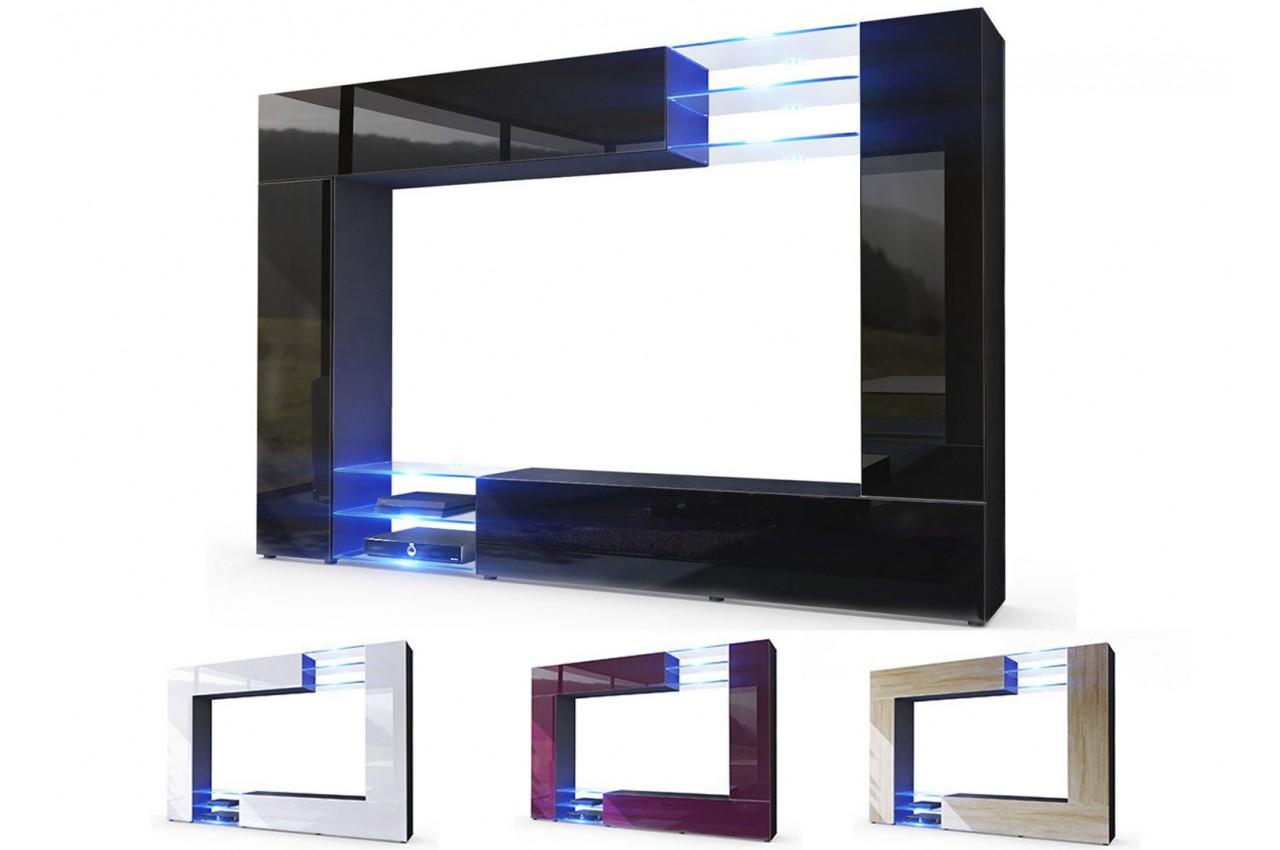 table de cuisine moderne en verre