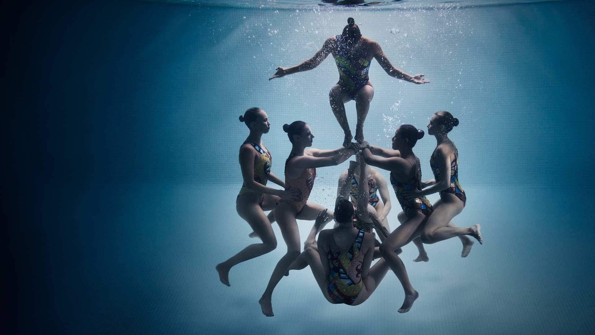 canada s synchronised swimming