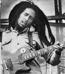 Bob Marley is shown in a 1979 file photo. His sons will reprise his Smile Jamaica concert aimed at restoring peace between rival gangs.