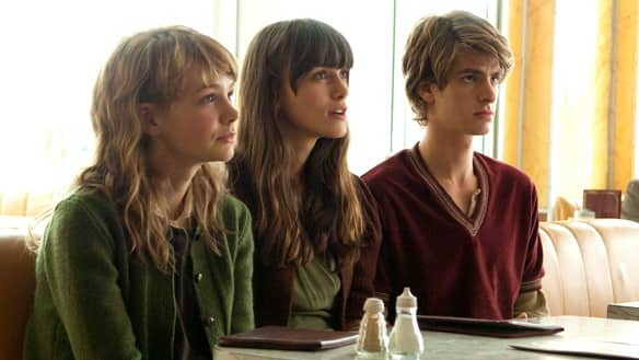 From left, Carey Mulligan, Keira Knightley and Andrew Garfield star in Never Let Me Go, based on a novel by British author Kazuo Ishiguro. (TIFF)