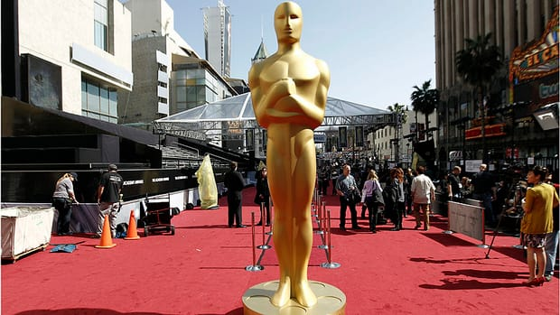 Final preparations are being made as Hollywood counts down to the 2012 Academy Awards in Los Angeles.