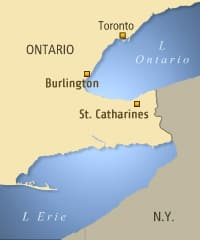 Ontario's lottery corporation says the winning ticket was bought in St. Catharines and validated in Burlington.