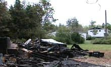 Grand Manan Five burned house