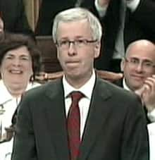 Liberal Leader Stéphane Dion addresses the House during the government's apology to former students of native residential schools.