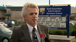 South Delta Secondary School principal Ted Johnson says the girls who streaked at the game will be suspended if they do anything else wrong.